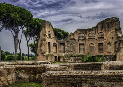 Structure on Palatine Hill