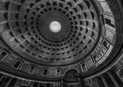 Pantheon Dome Interior Image