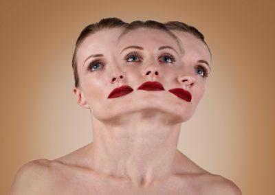 Three Faced Girl